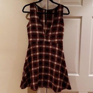 Zara tweed sleevless dress size xs